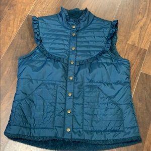 Free People vest.  Size L